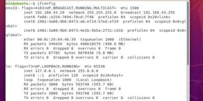 Install ifconfig on Ubuntu Linux