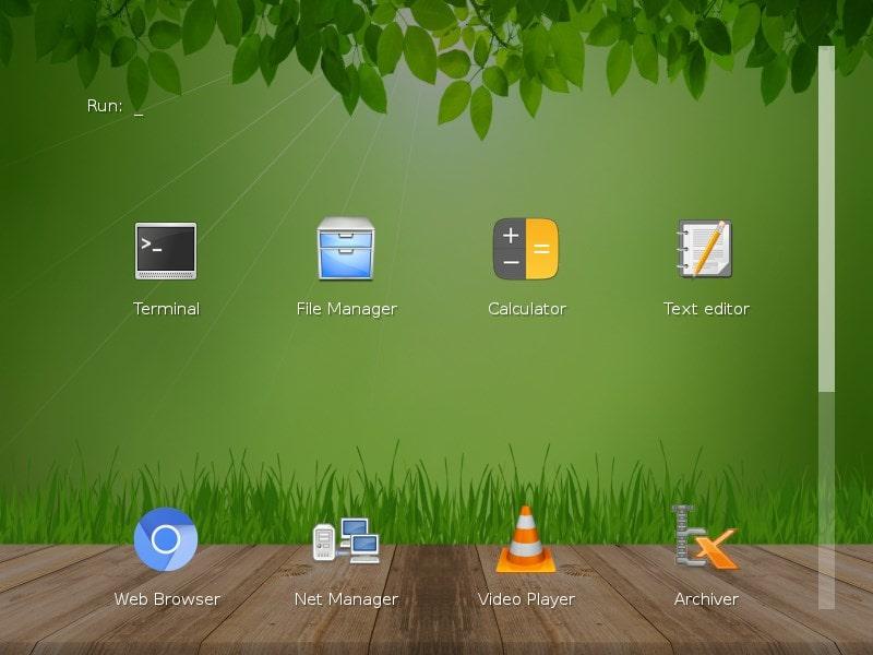 Slax USB linux apps