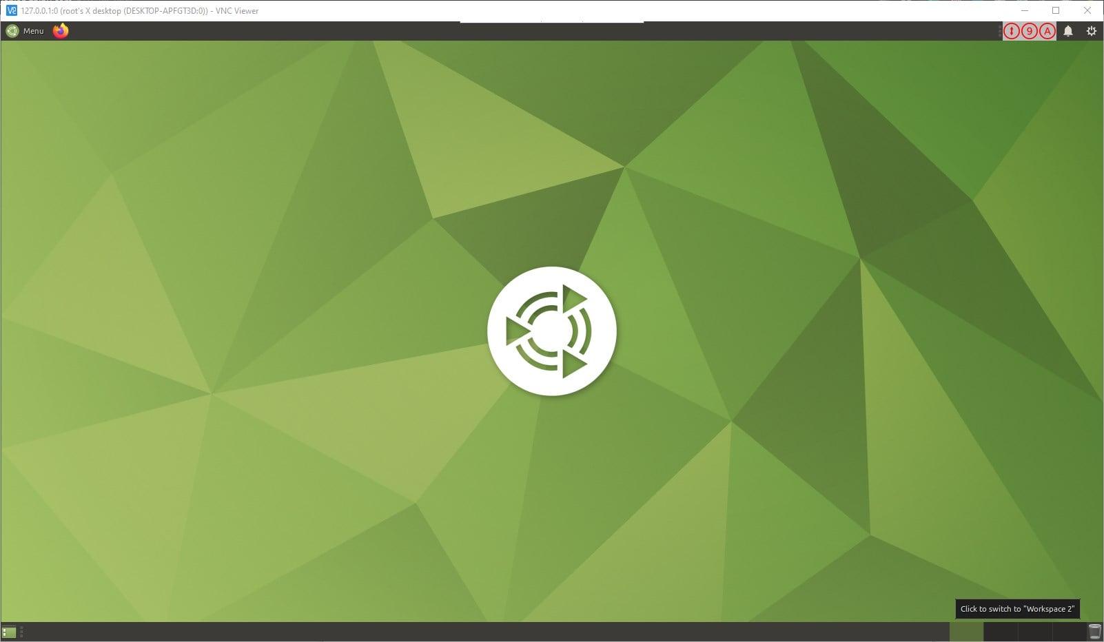 VNC viewer to access WSL 2 desktop