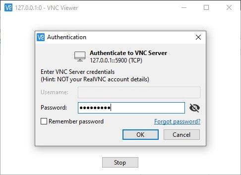connect to WSL desktop envrionment