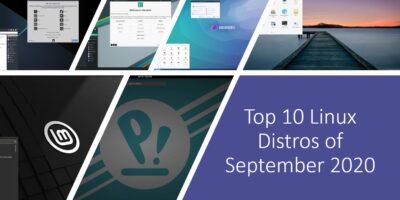 Best 10 Linux Distros of September 2020