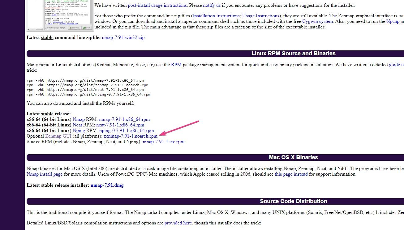 Convert Zenmap RPM package to Ubuntu Debian