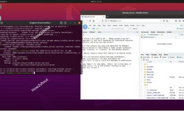 Install Rstudio server on Ubuntu 20.04 Linux