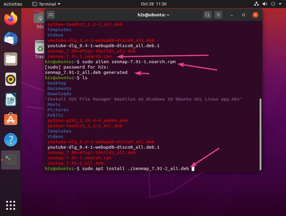 Install updated version of nmap and zenmap on Ubuntu 20.04