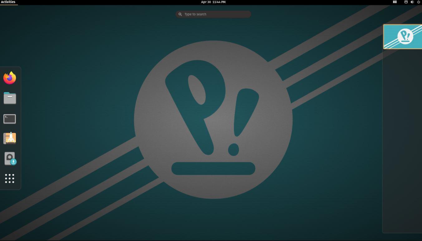 Pop OS Linux min