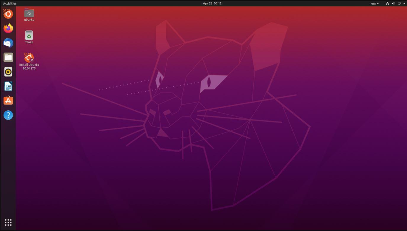 Ubuntu 20.4 best linux 2020 min