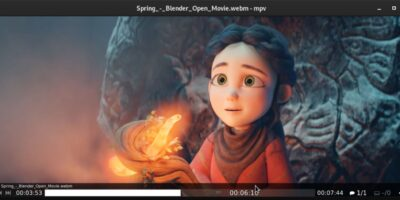 mpv best open source video Player