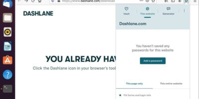 Dashlane Install Linux Ubuntu