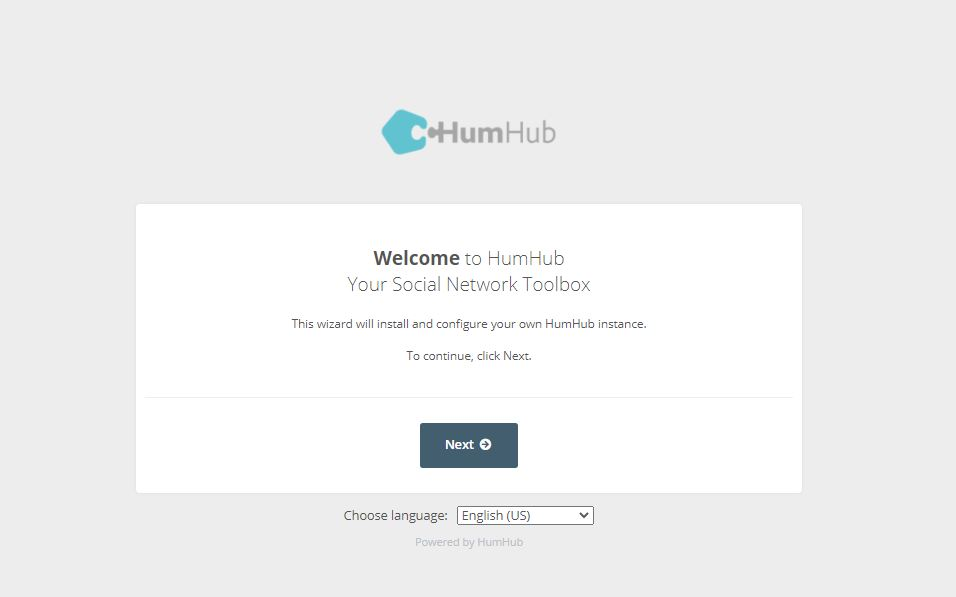 Humhub Linux server