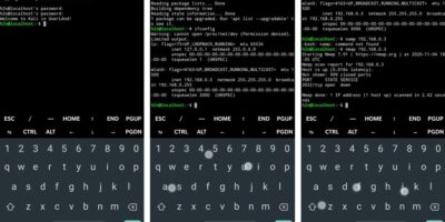 Kali Linux command line on Android