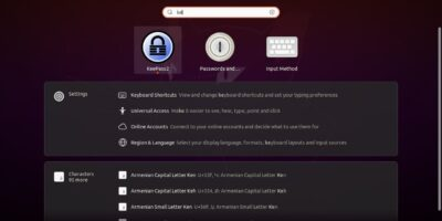 Keypass open source password manager for Ubuntu 20.04