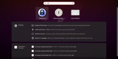 Keypass open source password manager for Ubuntu 20.04