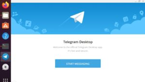 telegram Desktop app install Ubuntu 20.04 LTs