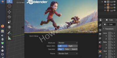 Blender installation on Mx Linux