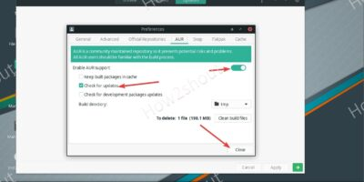 Enable Aur Repository on Manjaro Linux