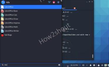 Run LibreOffice on Kali Linux