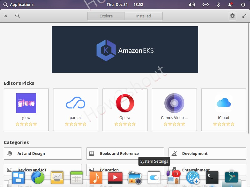 Snap store installation for Elementary OS