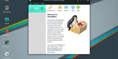 VirtualBox on Manjaro Linux