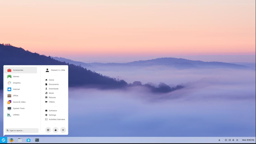 Zorin OS best linux for beginners