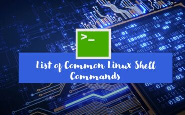 Common Linux Shell commands to start using terminal