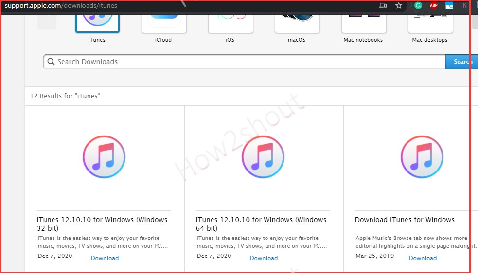 Download iTunes to install on Ubuntu Linux