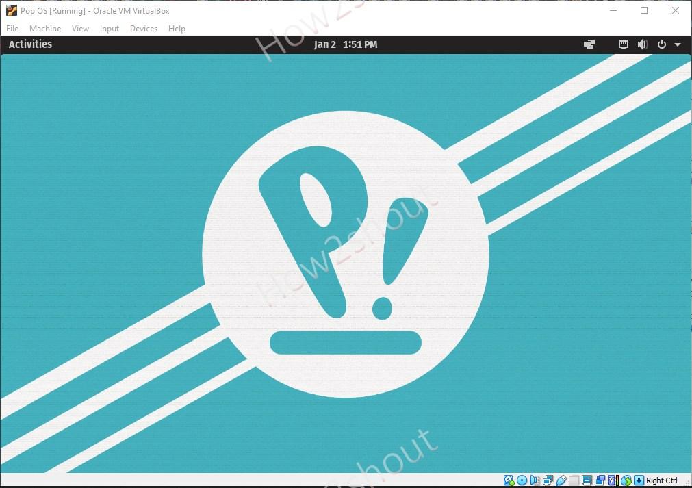 Install Pop OS Linux on VirtualBox Step by step