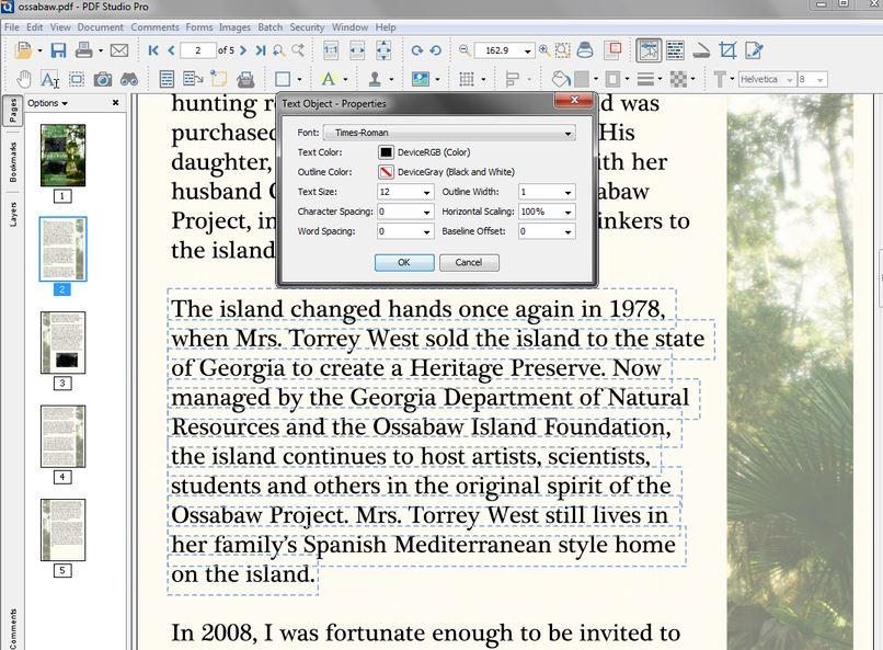 Qoppa PDF Studio editor