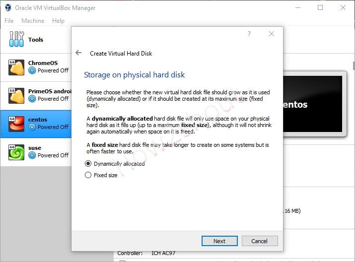 Storage Virtual Disk file type