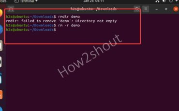 command to delete directory or folder with files in Linux
