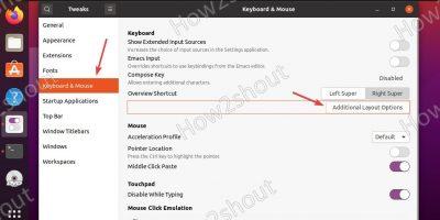 Disable Ubuntu Super or Win key