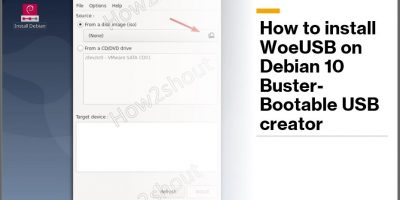 How to install WoeUSB on Debian 10 Buster Bootable USB creator