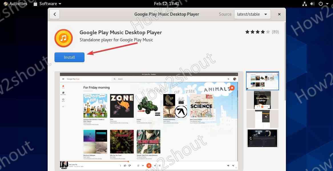 Install Google Music Player on CentOS