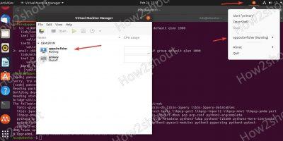 Run Virt Manager to access Multipass VMs min