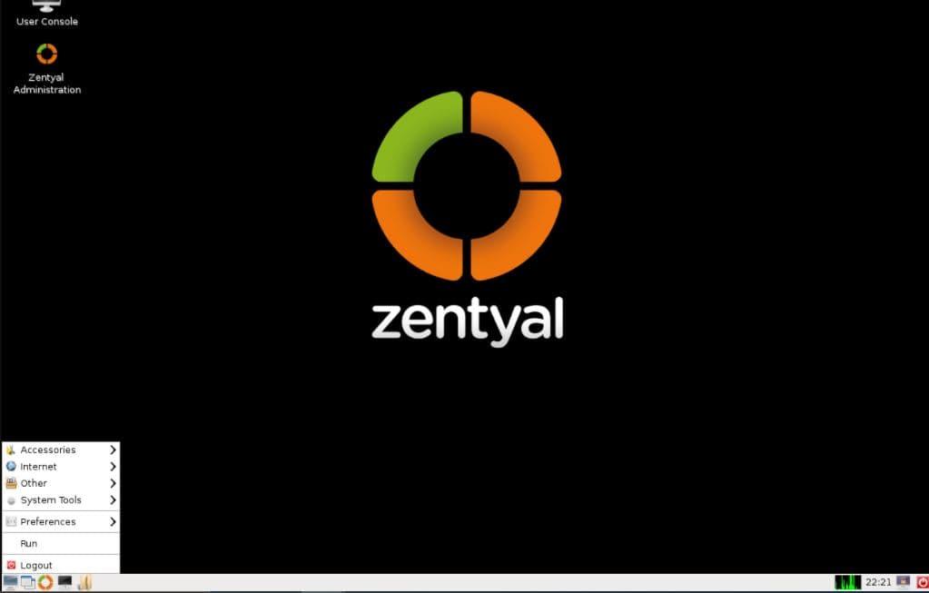 Zentyal Server for Network min