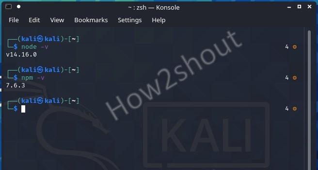 Check NPM and Node JS Version