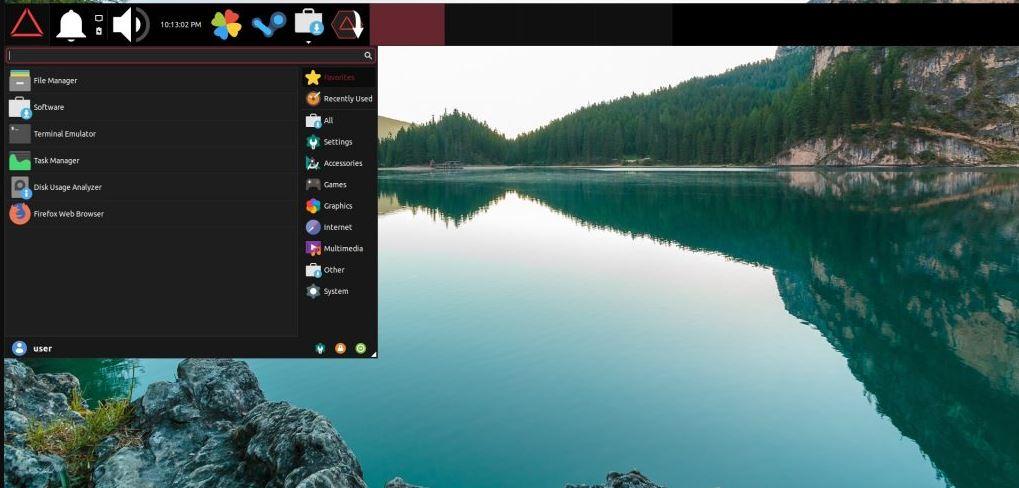 Drauger Os Linux Desktop Gaming OS