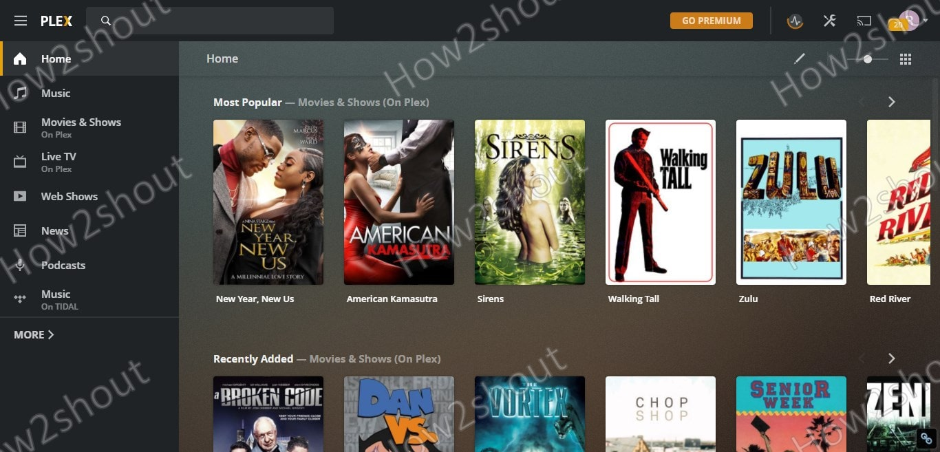 Install Plex Media server using Snap on Ubuntu 20.04 Movies and Music min