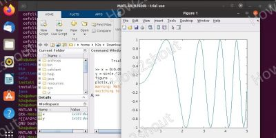 Install and run MATLAB on Ubuntu 20.04 Linux min