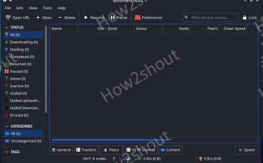 Qbittorrent GUI for Kali Linux