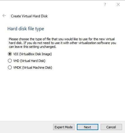 Select hard sik file type