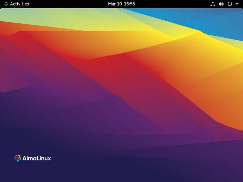 VirtualBox virtual machine install AlmaLinux CentOS alternative