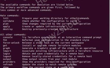 install Terraform on Linux min