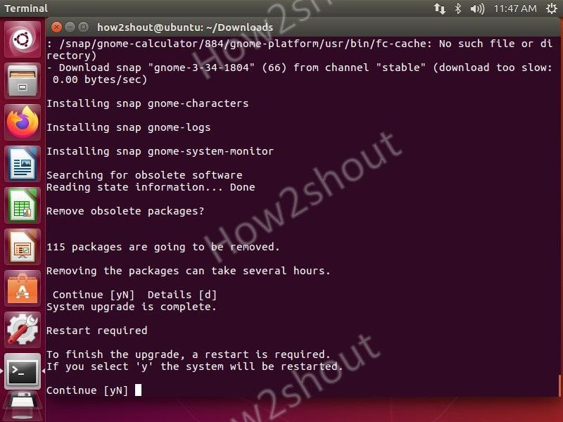 upgrade ubuntu 16.04 LTS to 20.04 LTS