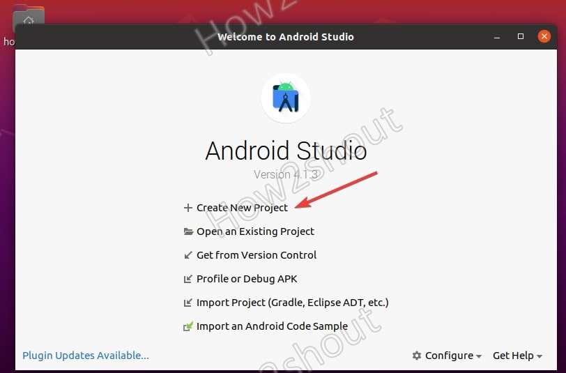 Add Android studio to system PATH for command line launcher