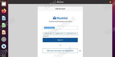 Command to install Bluemail on Ubuntu 20.04 LTS