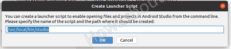Create Script launcher