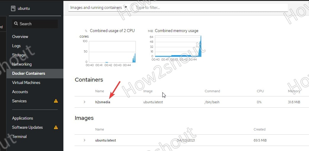 Open container VM