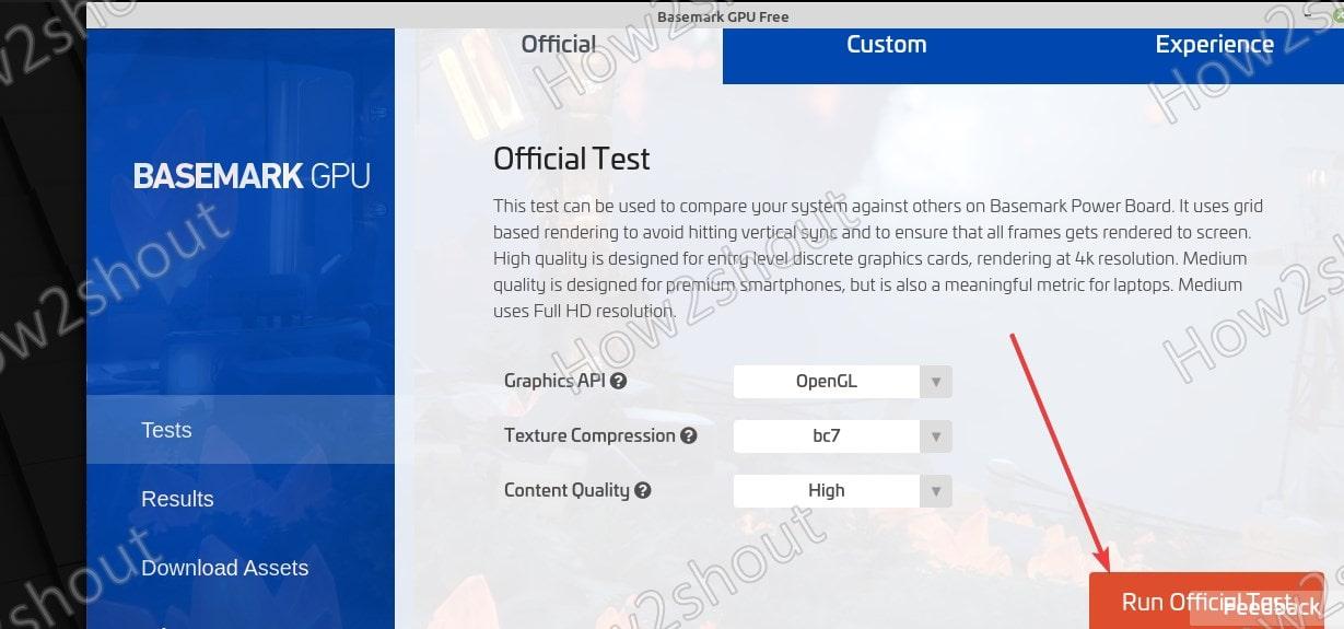 RUn BaseMark GPU Benchmark Test on Ubutnu 20.04 Linux