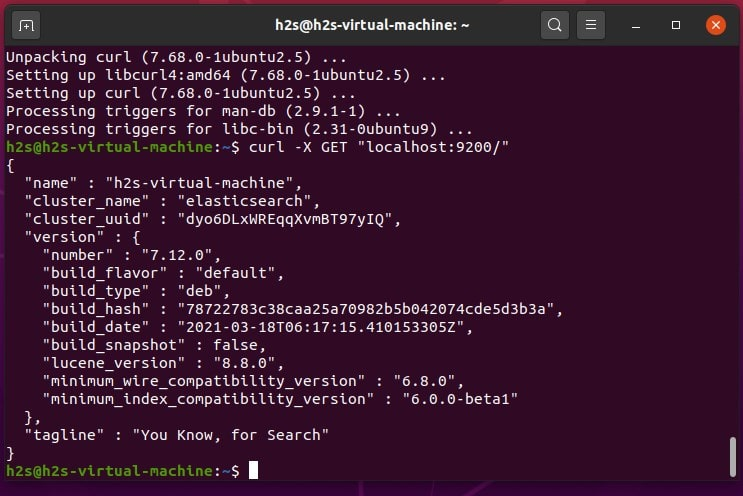 Verify Elasticsearch is working properly