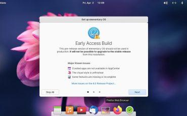 elementary OS 6 ODIN Early access min